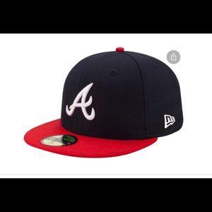 Youth adjustable Atlanta baseball cap